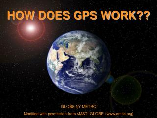 GLOBE NY METRO Modified with permission from AMSTI-GLOBE  (amsti)