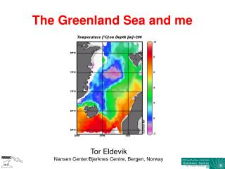 The Greenland Sea and me