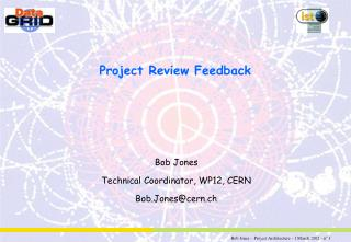 Project Review Feedback