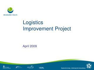 Logistics Improvement Project
