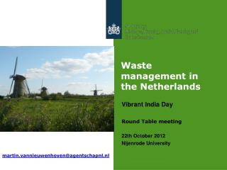 Waste management in the Netherlands