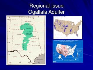 Regional Issue Ogallala Aquifer