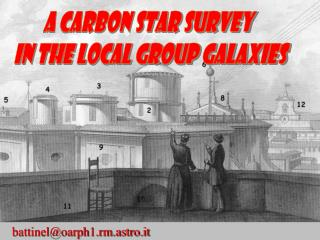 A Carbon Star Survey  in the Local Group galaxies