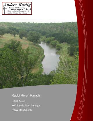 Rudd River Ranch