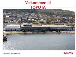 Velkommen til TOYOTA