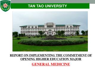TAN TAO UNIVERSITY