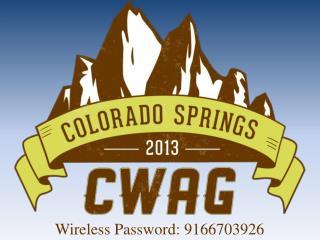 Wireless Password: 9166703926