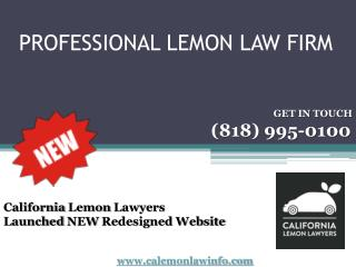 Professional lemon law firm