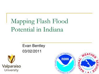 Mapping Flash Flood Potential in Indiana