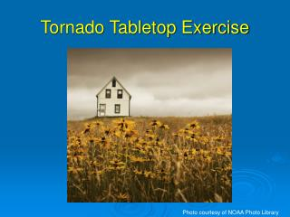 Tornado Tabletop Exercise