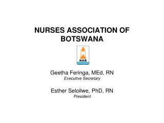 NURSES ASSOCIATION OF BOTSWANA