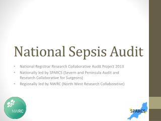 National Sepsis Audit