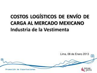 Lima, 08 de Enero 2013