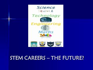 STEM CAREERS – THE FUTURE?