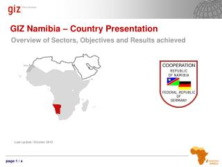 GIZ Namibia � Country Presentation