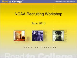 NCAA Recruiting Workshop