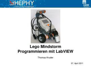 Lego Mindstorm Programmieren mit LabVIEW