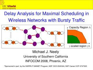 Delay Analysis for Maximal Scheduling in Wireless Networks with Bursty Traffic