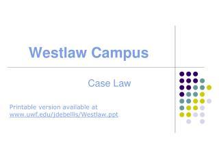 Westlaw Campus