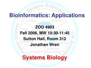 Bioinformatics: Applications