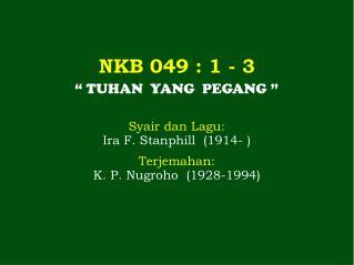 NKB 049  : 1 - 3