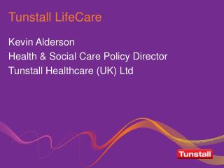Tunstall LifeCare