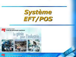 Système EFT/POS