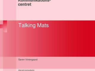 Talking Mats