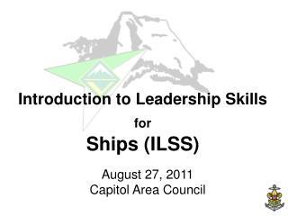 August 27, 2011 Capitol Area Council