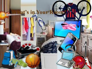 What's in Your Room?