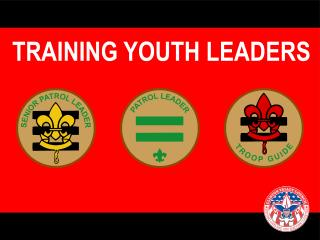TRAINING YOUTH LEADERS