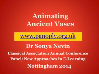 Animating Ancient Vases