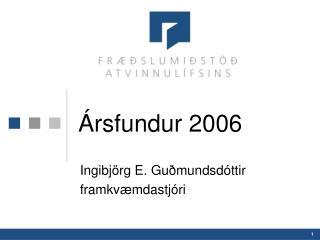 Ársfundur 2006