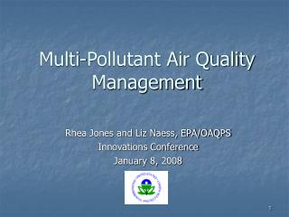 Multi-Pollutant Air Quality Management