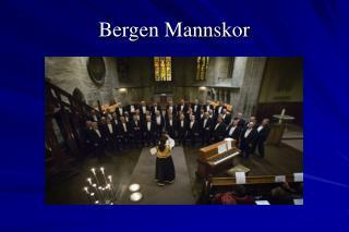 Bergen Mannskor