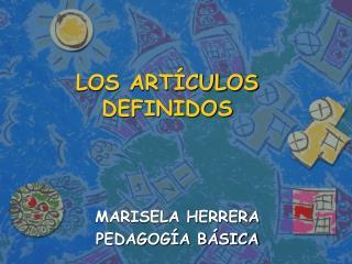 LOS ART CULOS DEFINIDOS