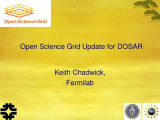 Open Science Grid Update for DOSAR