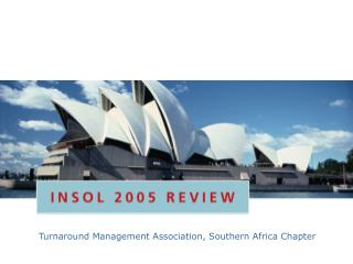 Turnaround Management Association, Southern Africa Chapter