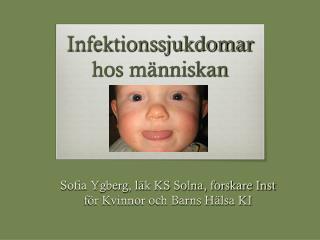Infektionssjukdomar  hos människan
