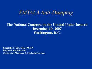 EMTALA Anti-Dumping