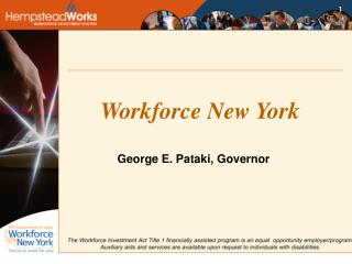 Workforce New York