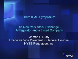 Third ICAC Symposium