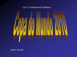 E.E.E. Fundamental Rui Barbosa
