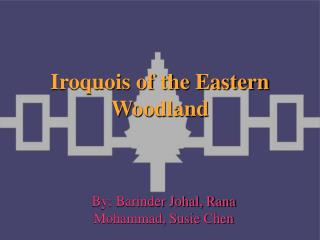 Iroquois of the Eastern Woodland