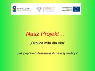 Nasz Projekt…