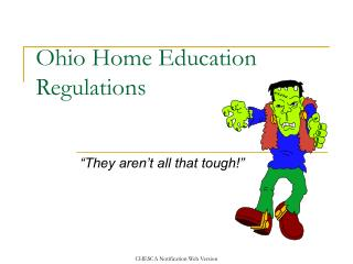 Ohio Home Education Regulations