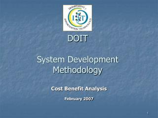 DOIT   System Development Methodology