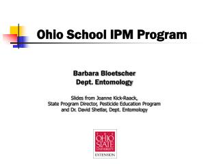 Ohio School IPM Program