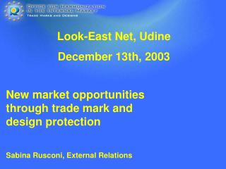 New market opportunities through trade mark and design protection