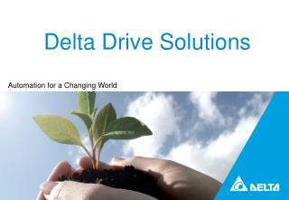 Delta Drive Solutions